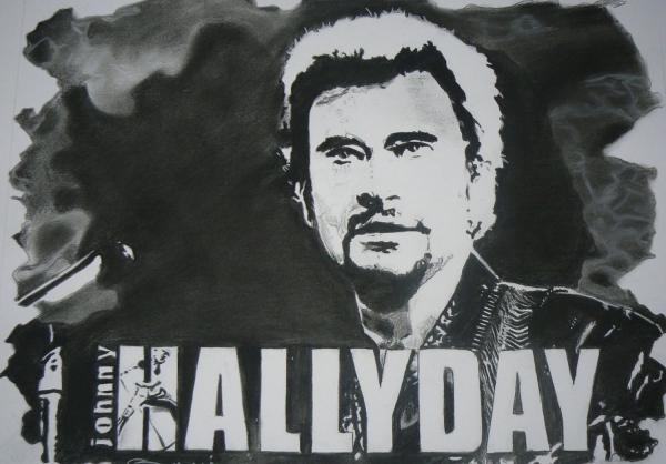 Johnny Hallyday par johnsy